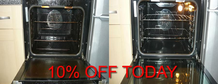 get an oven cleaning quote in epsom